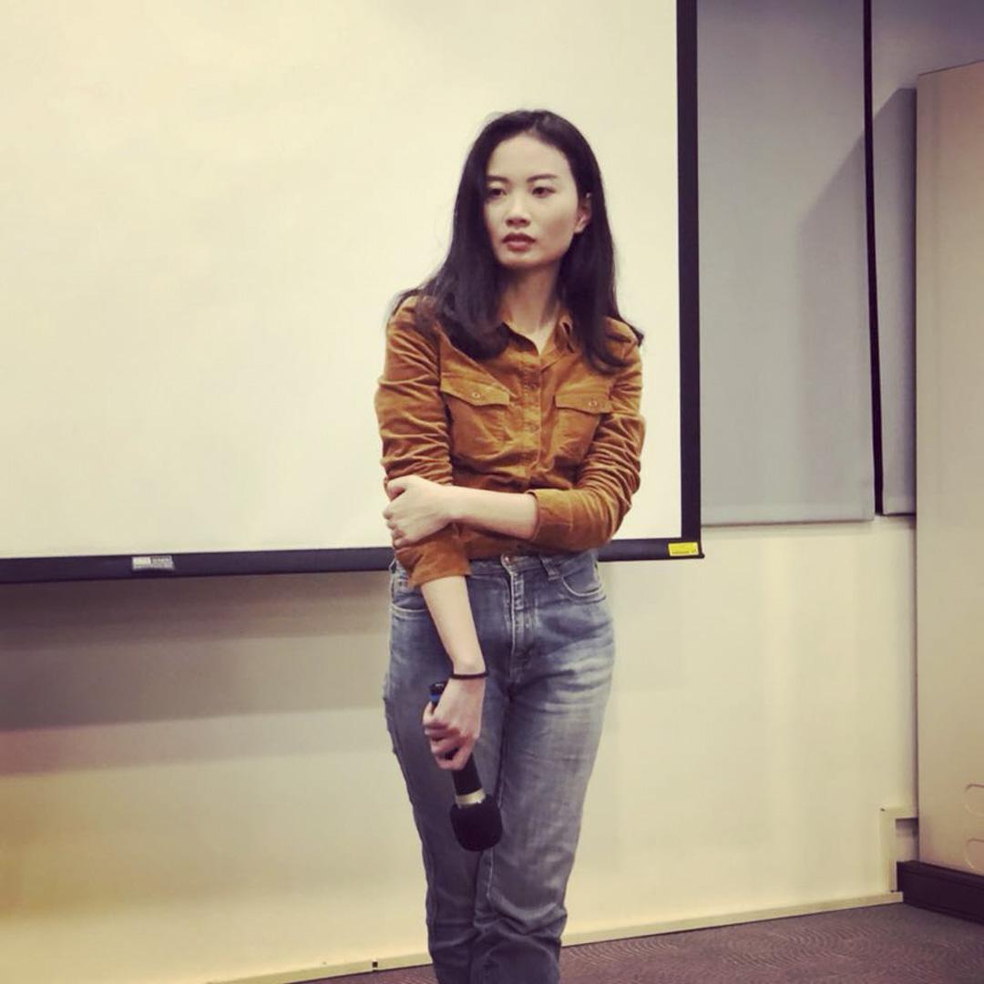 《她們的征途》作者趙思樂。
