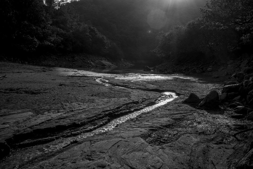 鶴藪水塘。