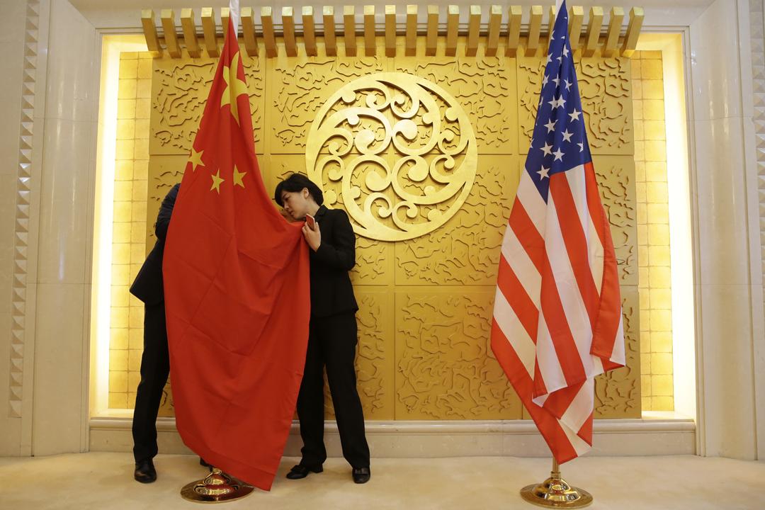 美國國會眾議院通過收緊規管外國投資的法案,被視為壓止中國侵犯美國科技知識產權的新一項舉措。 攝:Jason Lee / AFP / Getty Images