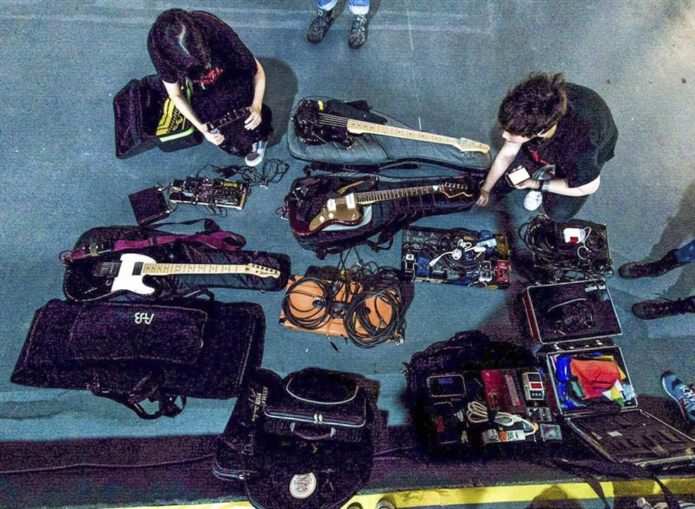 通常在試音/表演前,技師會協助樂手將樂器準備至最佳狀態。