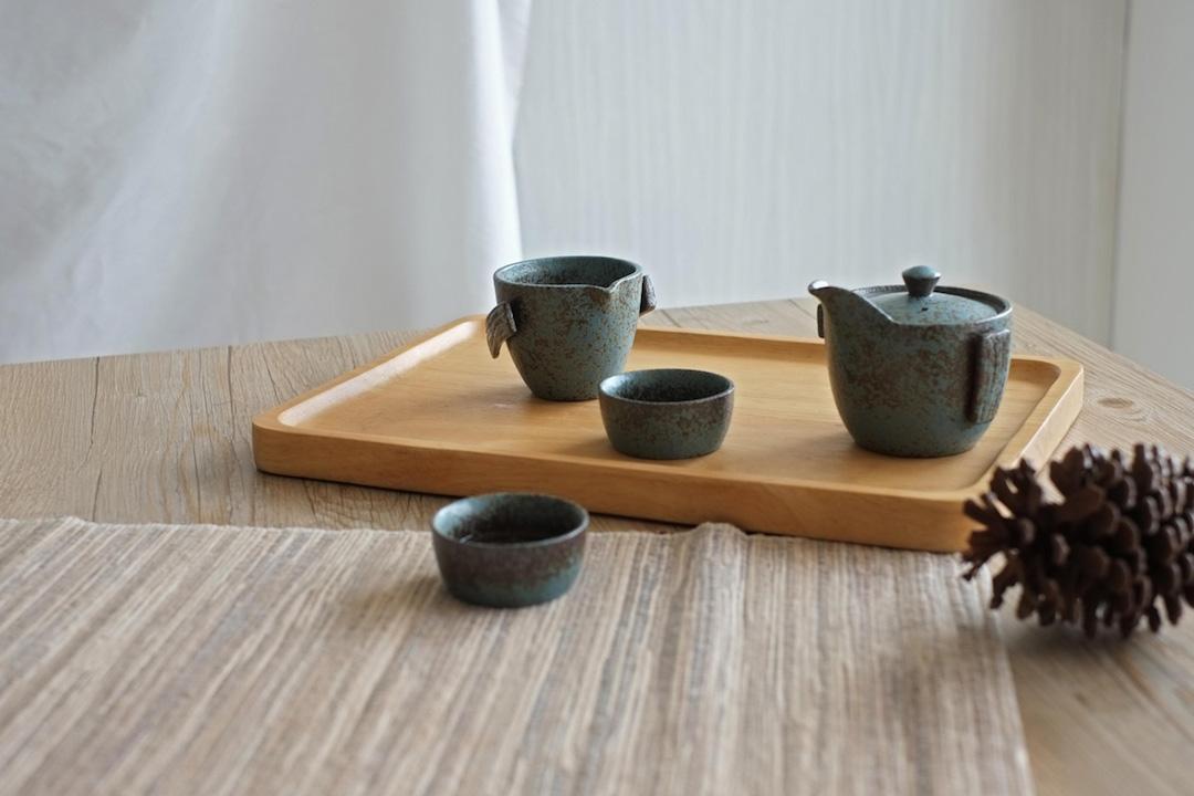 品藏 仿鐵鏽 隨身旅行組 一壺二杯附茶海