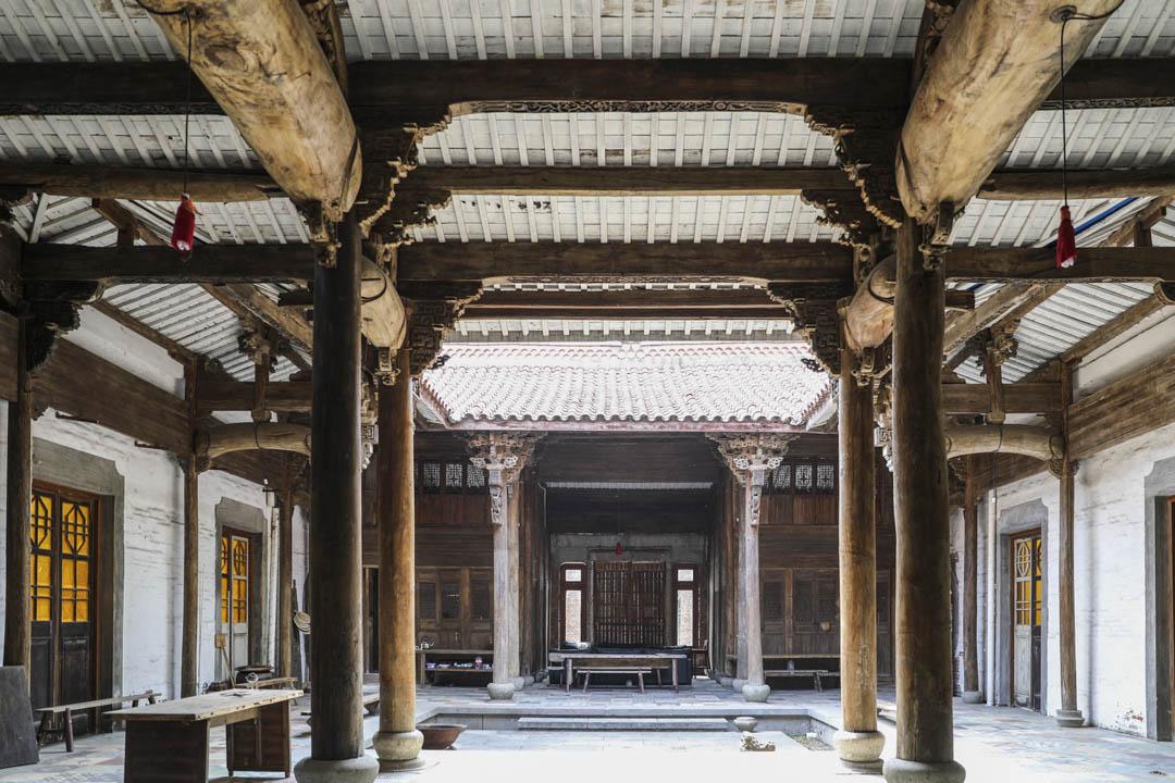 陳文玉古建築的內部,承慶堂。