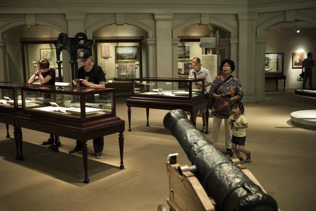 香港歷史博物館內的「香港故事」展覽。 攝:林振東/端傳媒