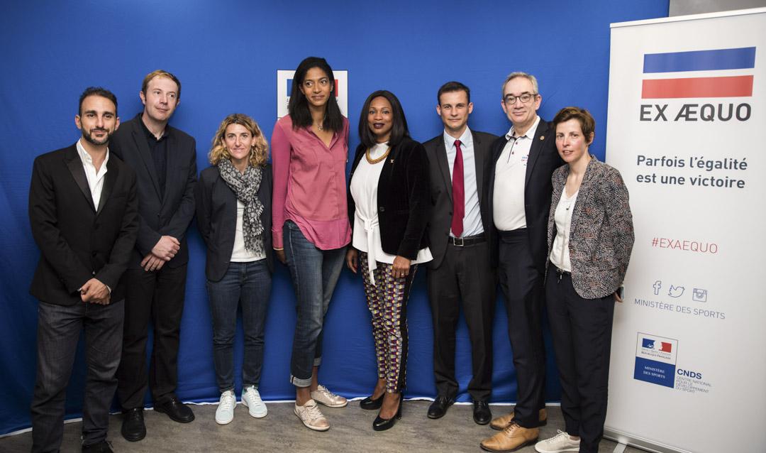 2018年5月17日 - 尤安·勒梅爾(Yoann Lemaire)獲邀出席由體育部與國家男女平等秘書處合辦的INSEP預防體育運動同性戀恐怖主義討論會。