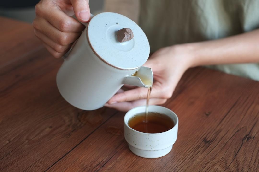 品藏 汝窯系列 一壺三杯粗陶典雅茶具套