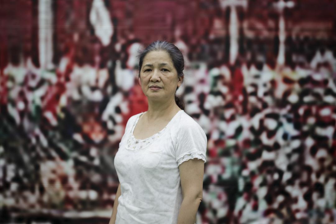 陳太,50歲,家庭主婦。