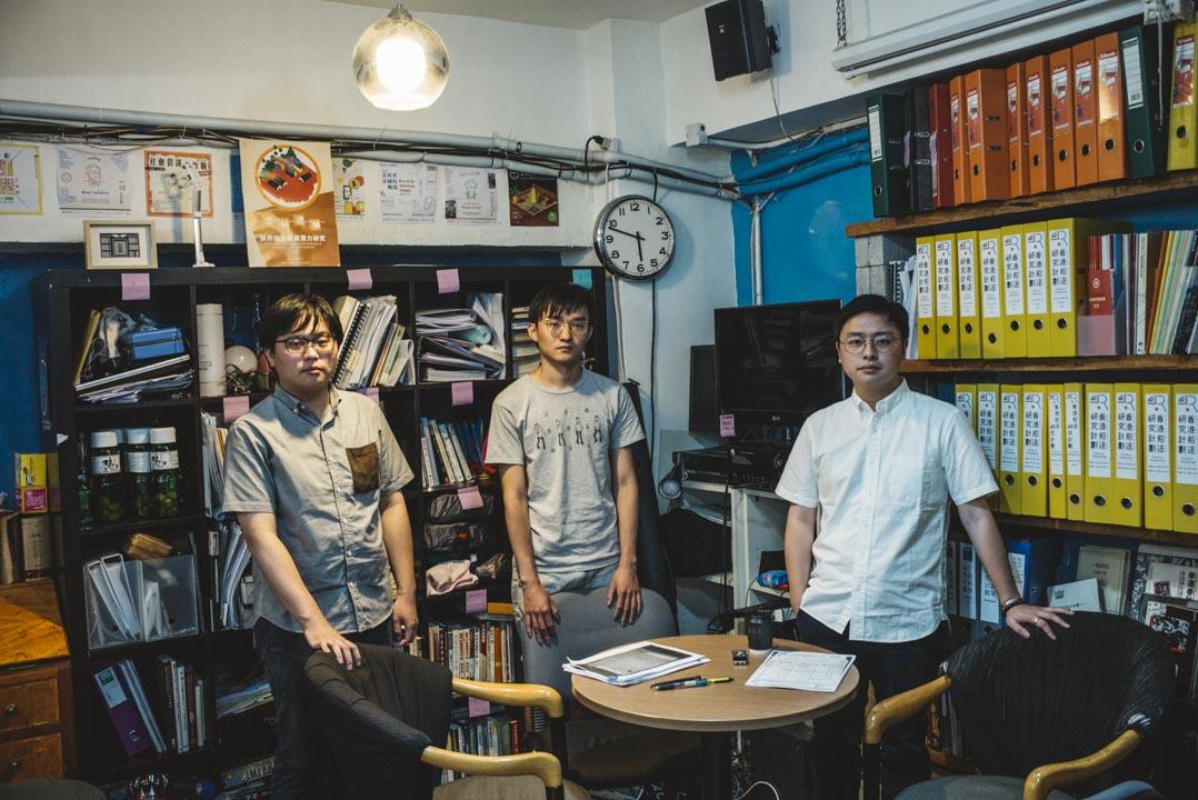 郭熙堯、彭嘉林、姚躍華三人是「香港前途研究計劃」的年輕成員,涉獵從英國挖掘回來的六四檔案。