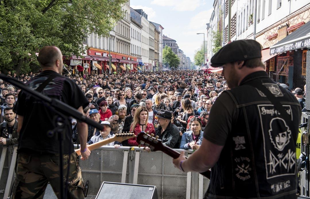 2018年MyFest現場,有樂隊在表演音樂。