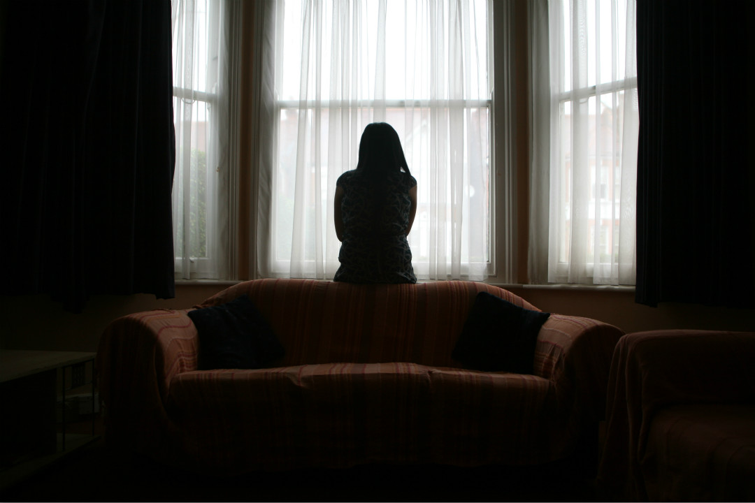 2018年6月20日,曾被班主任性侵的甘肅省慶陽市19歲女生跳樓自殺。 攝:Andrew Aitchison/Corbis via Getty Images