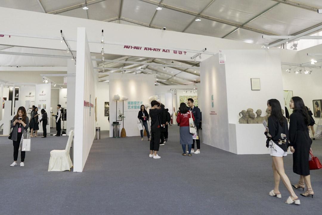 首屆「藝術成都 Art Chendu」展場。
