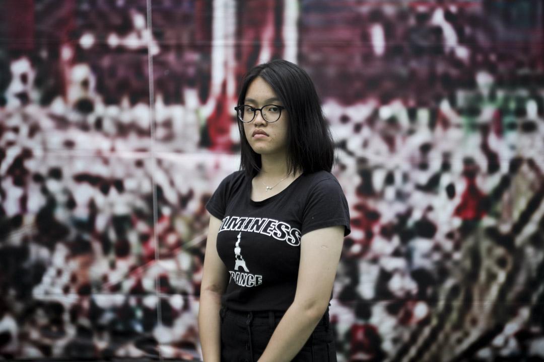 郭同學,17歲,中五學生。