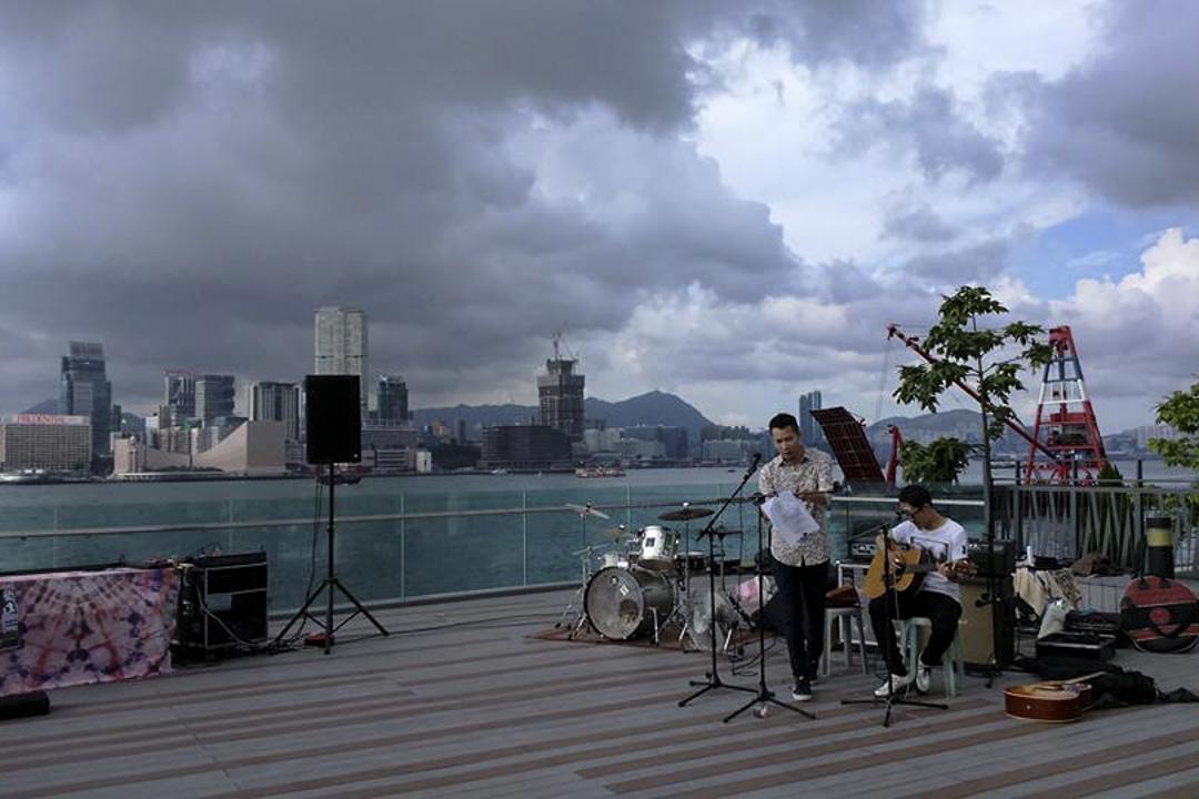 2015的「自由文化音樂節」在添馬公園舉行。