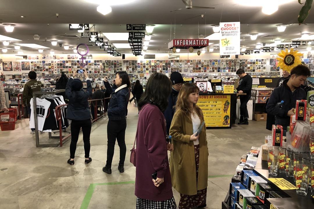 三藩市的 Amoeba 唱片店,像一座音樂圖書館,又像一個音樂社區。