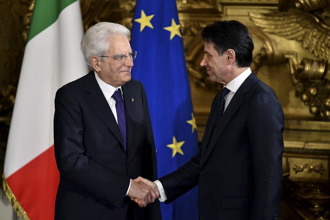 2018年5月31日,朱塞佩·孔特(Giuseppe Conte)再獲總統馬塔雷拉(Sergio Mattarella)任命為總理,最新組閣名單亦已獲接納,於6月1日宣誓就任。