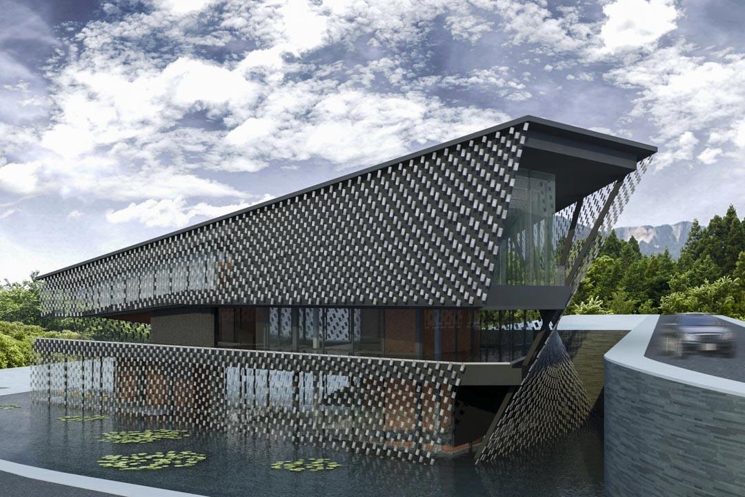 成都的私人美術館,花樣年控股集團的「知美術館」。