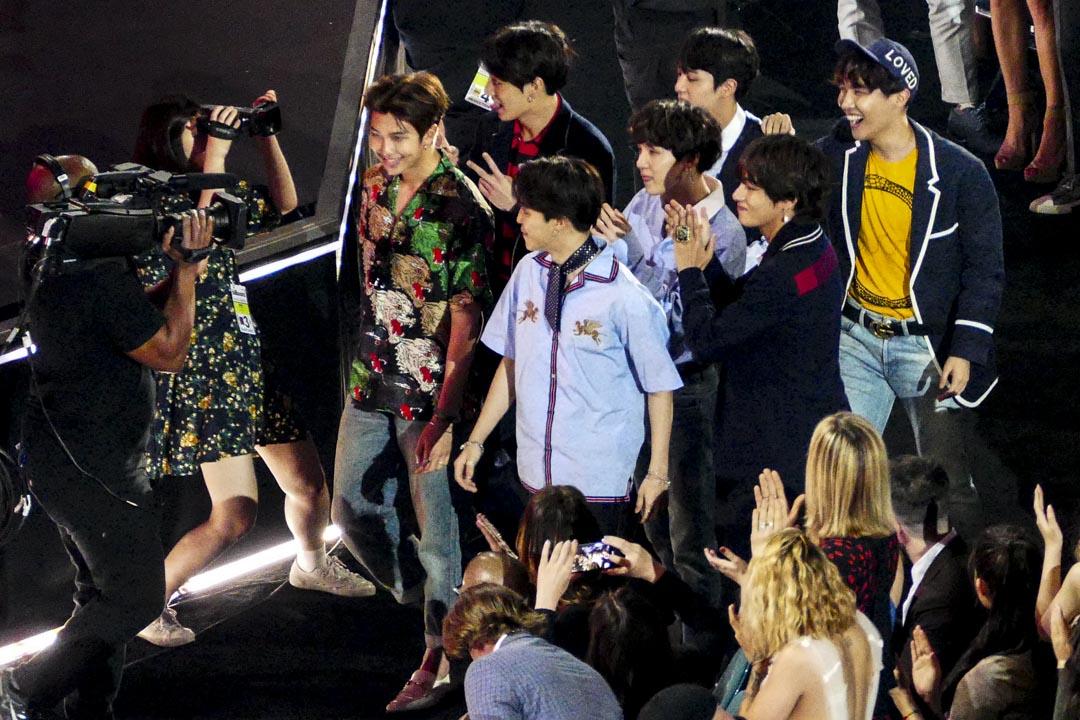 2018年5月20日,防彈少年團(BTS)於 「2018 Billboard Music Awards」中再度摘得「Top Social Artist」。