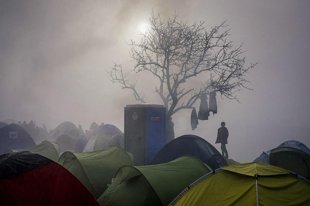 記得剛來瑞典時,是2015年秋天。正值敘利亞難民危機,數以萬計的難民湧入瑞典,湧入歐洲。 攝:Dimitar Dilkoff/AFP via Getty Images