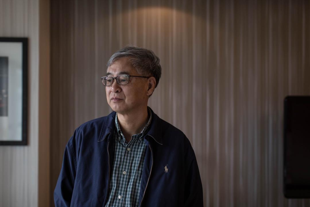 復旦大學文史研究院創院院長及歷史系特聘教授葛兆光教授。 攝:Stanley Leung/端傳媒