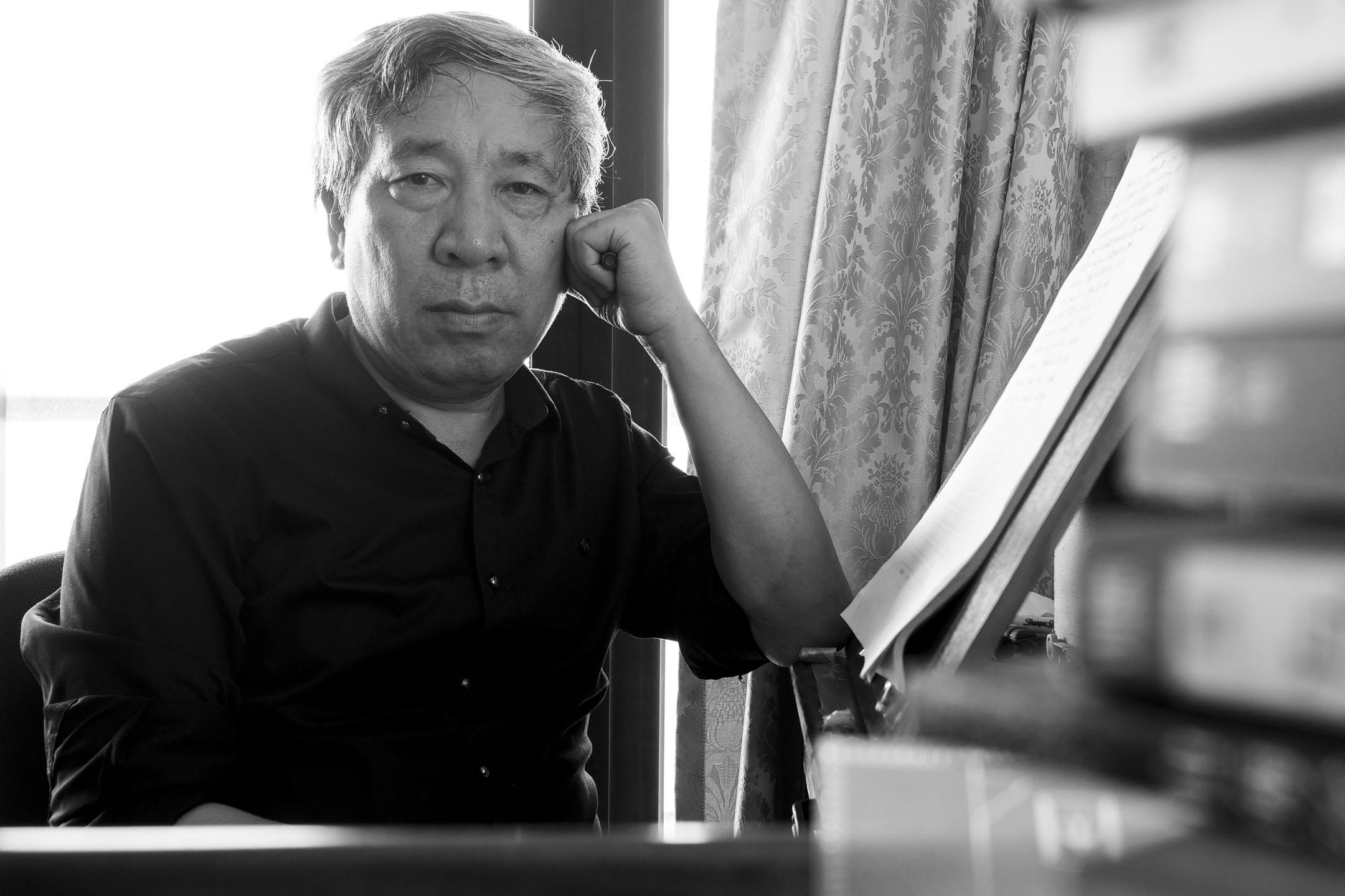閻連科被稱作「荒誕現實主義大師」,是華人世界首位卡夫卡文學獎獲得者,曾三次提名國際布克獎長名單,也被視為下一位最有可能獲得諾貝爾文學獎的中國作家。 攝影:張華東