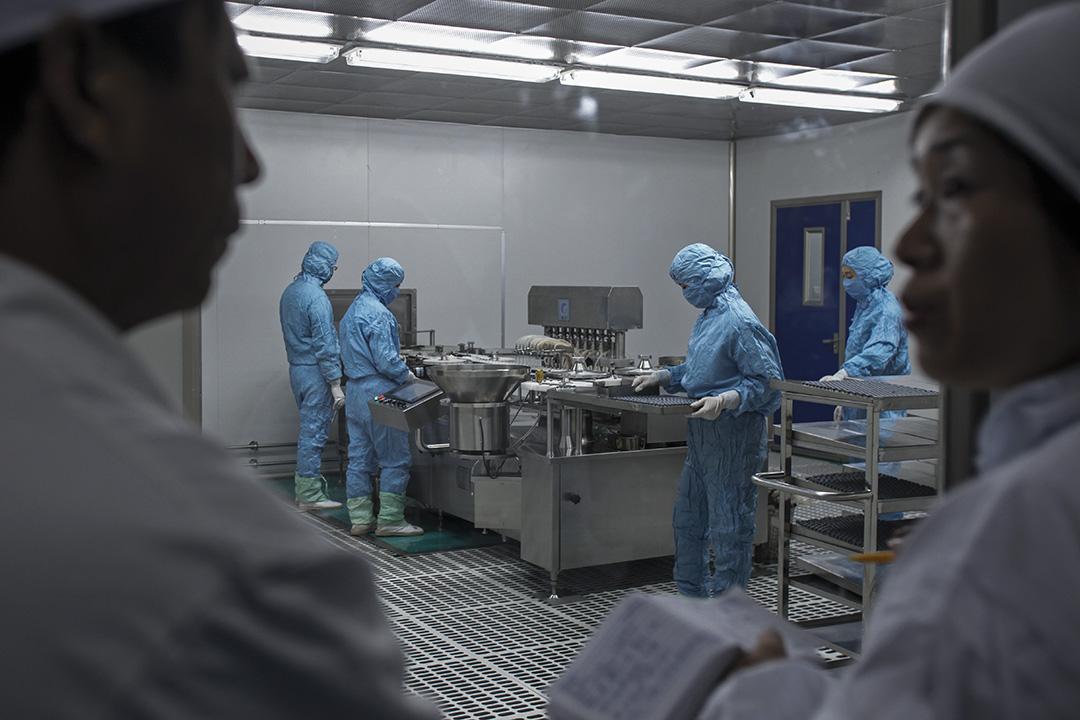 圖為長生生物工廠。
