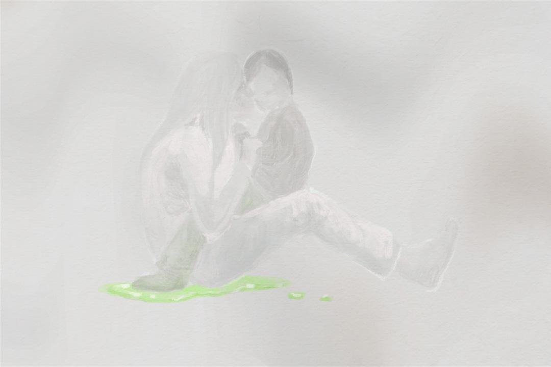 結石寶寶的母親李寧哲(化名)說,過往十年,「毒奶粉」一直仍在繼續傷害她的兒子。 圖:Tsengly / 端傳媒