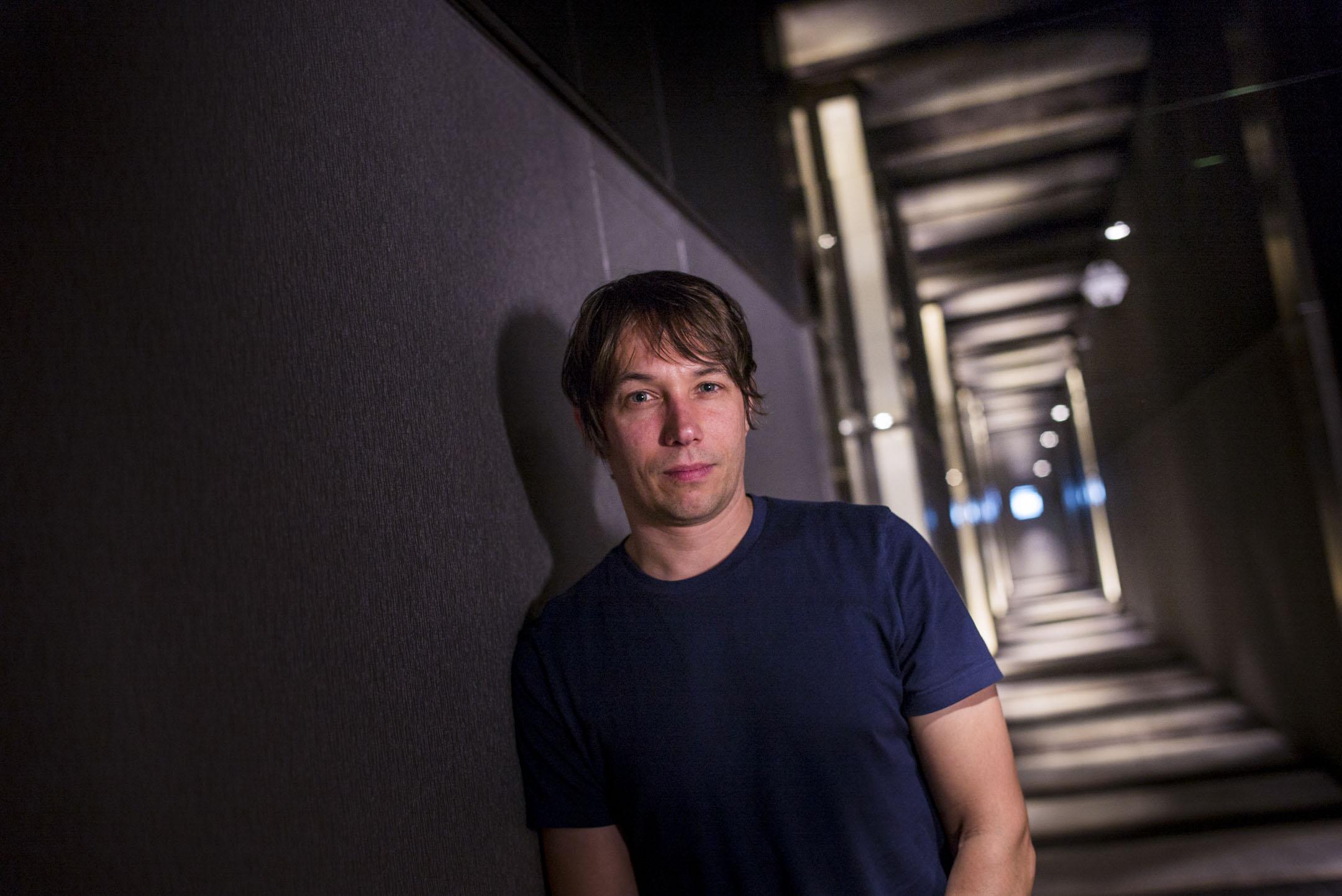 美國獨立導演Sean Baker,1971年生於美國新澤西州,就讀紐約大學電影系,以其擅長的低成本製作活躍於美國獨立電影圈。 攝:林振東/端傳媒
