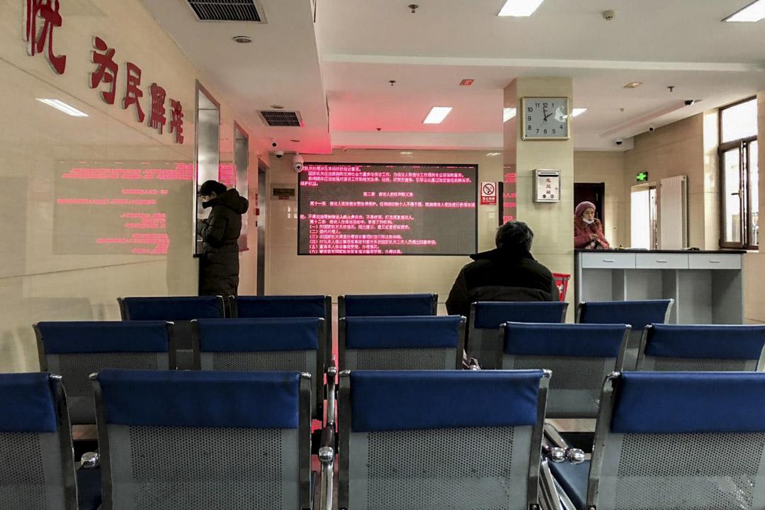 李寧在山東省信訪局。