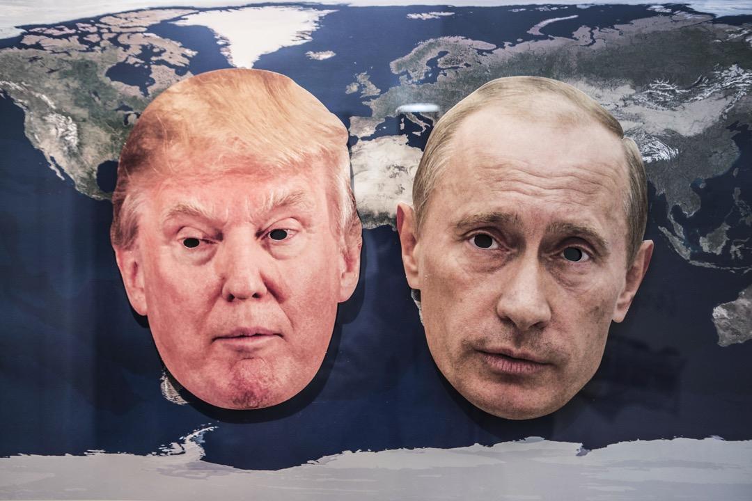 只要普京能與特朗普找到共同利益,進行交易,什麼尊重國家主權的國際法,對兩人亦不足掛齒。問題是,此等美俄關係微妙的轉變,還須看特朗普的連任工程是否能繼續迷惑人心。 攝:Ulrich Baumgarten via Getty Images