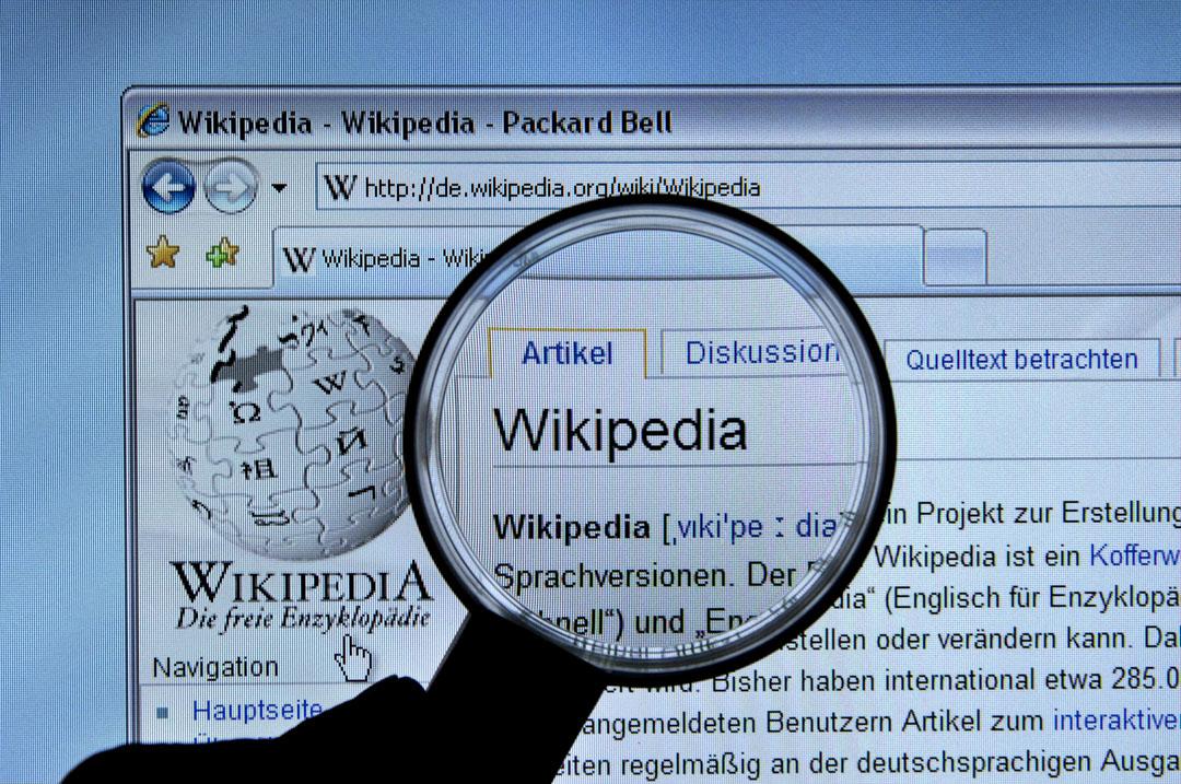 日前歐洲議會否決版權法建議。最大反對聲音之一維基百科(Wikipedia)的西班牙、意大利及波蘭語版網頁於前日起停運,改為顯示抗議聲明。圖為維基百科網站。 攝: Schöning/ullstein bild via Getty Images