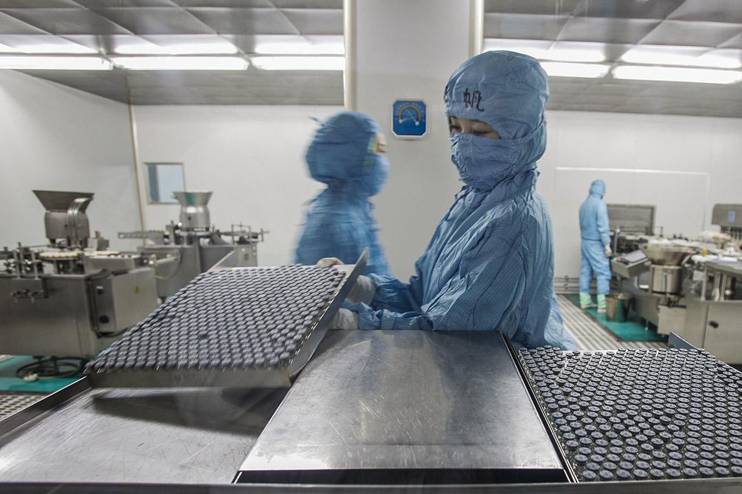 長春長生成立於1992年8月,旗下有6個品種的一類和二類疫苗,是中國第二大狂犬疫苗企業,也是流感疫苗前三甲之一。圖為長春長生的工廠。