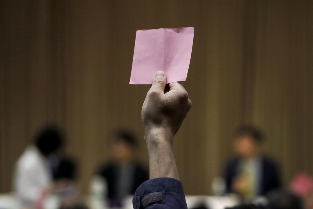 2018年5月12日,台大在臨時校務會議中拒絕重啟遴選,而要求教育部儘速發聘。