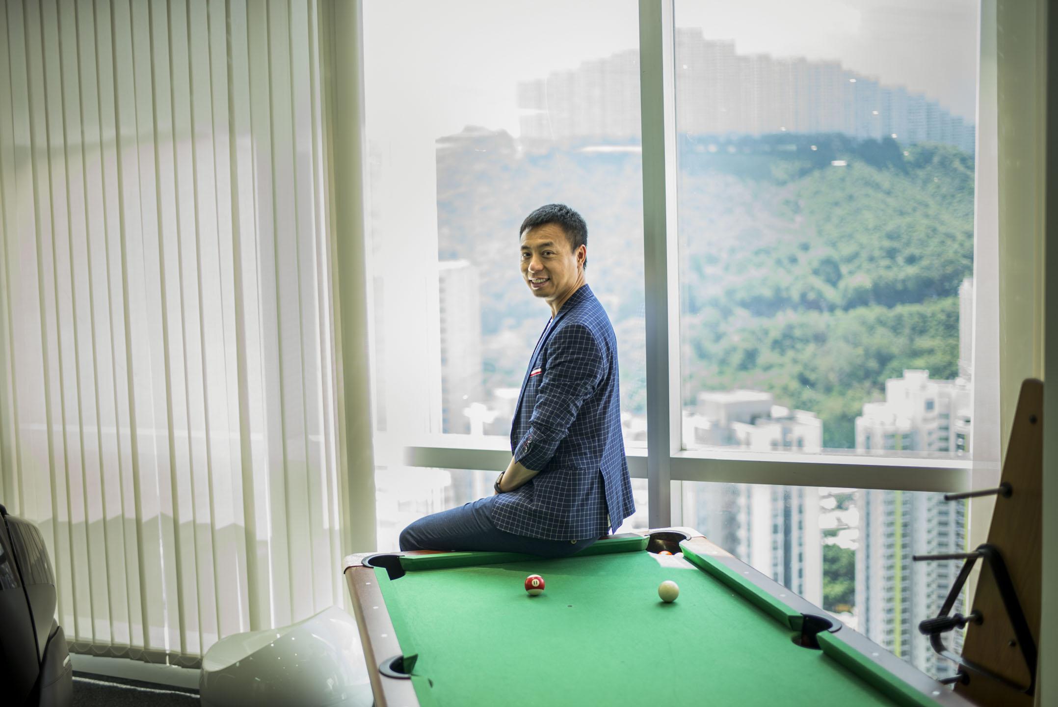 文立,香港天使投資人也是海闊天空創投基金的合夥人,同時也是一位資深的創業者。 攝:林振東/端傳媒