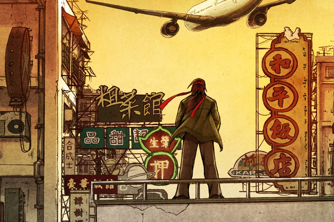 《光輝歲月:歲月迷城》將故事背景設於八十年代的香港,主角國雄、王一心,開始聯合各路的英雄,群起對抗地產黨。 遊戲海報