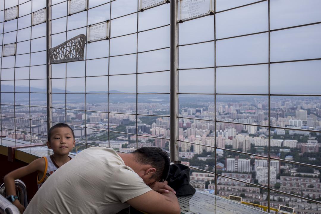 幾月北京房租出現暴漲,中國房產搜索引擎「諸葛找房」最近發布的數據顯示,7月底北京房租較去年同期大漲25.6%,部分地段漲幅更直逼40%。 攝:林振東/端傳媒