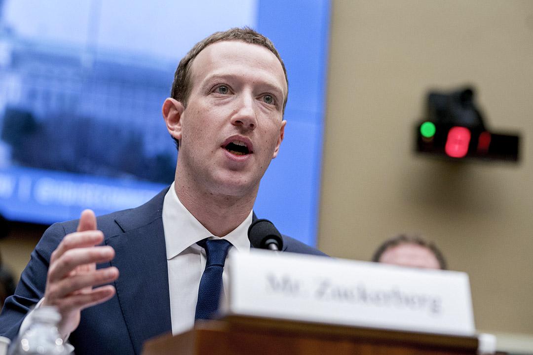 使用Facebook的千禧一代,某種程度上都希望成為朱克伯格、馬斯克這樣的人。圖為2018年4月11日,朱克伯格出席國會聽證會。