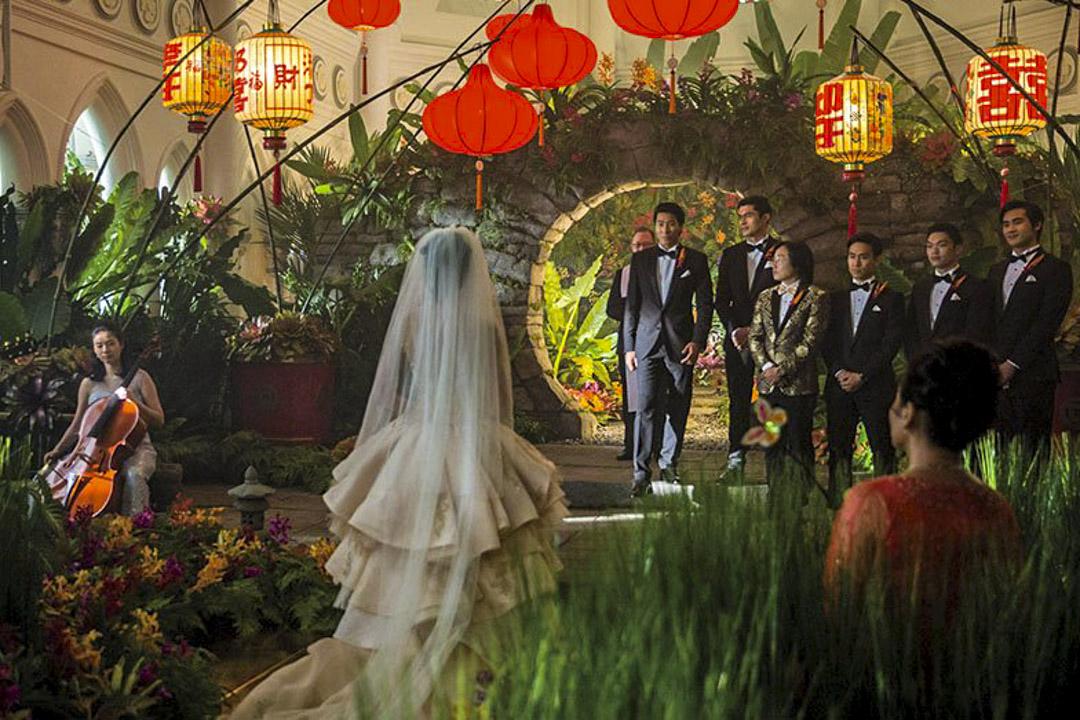《瘋狂亞洲富豪》(Crazy Rich Asians)電影劇照。