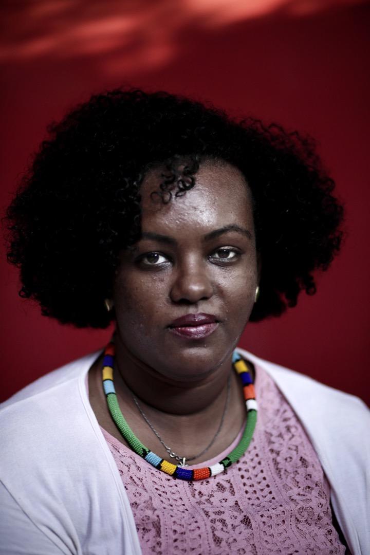 努比亞抗爭者Fatmah Imam。