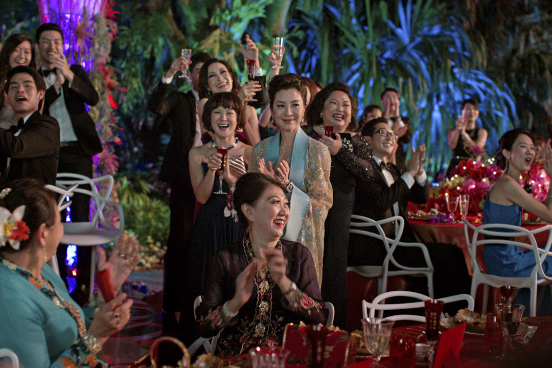 《Crazy Rich Asians》電影劇照。