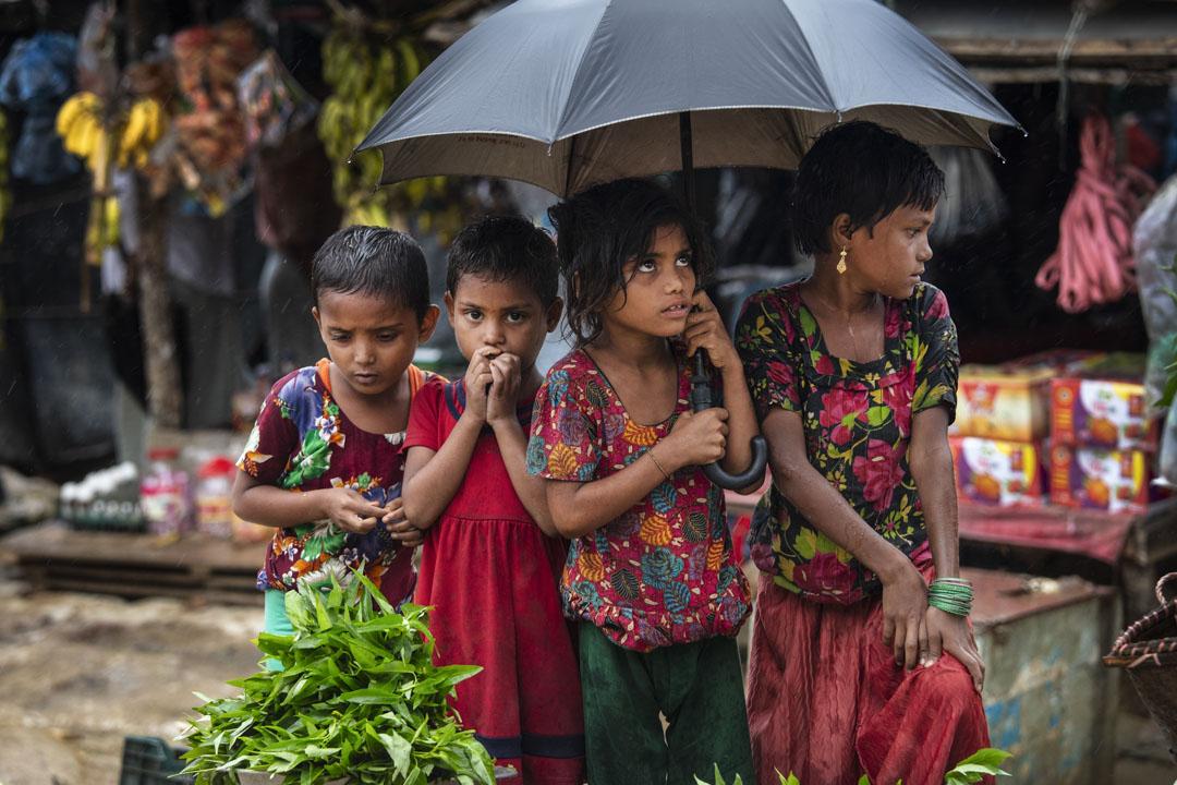 聯合國日前發表調查報告,首次就緬甸若開邦羅興亞穆斯林遭鎮壓、驅趕、甚至種族清洗,緬甸官方否認指控。 攝: Paula Bronstein/Getty Images
