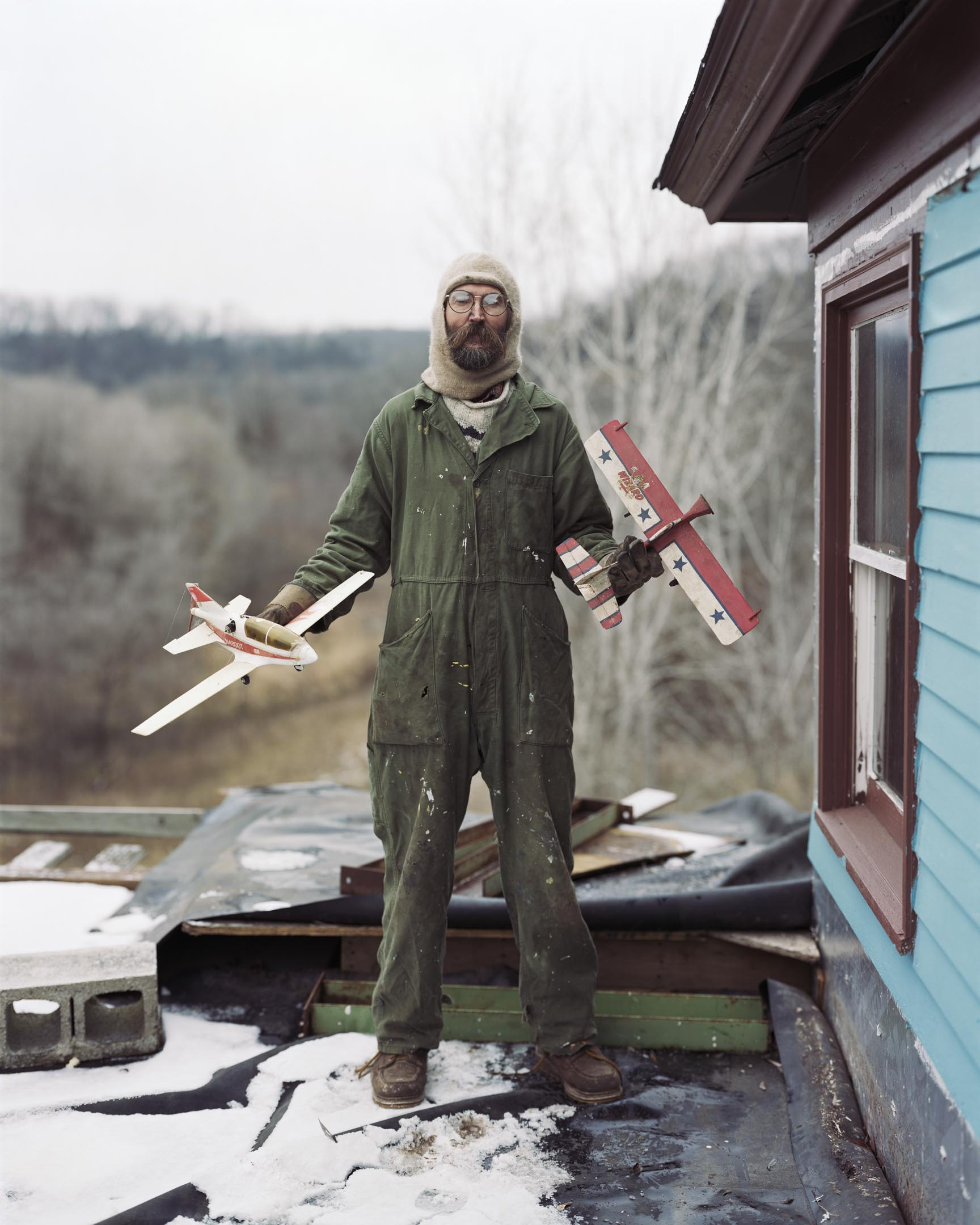 Vasa, Minnesota, USA. 《Sleeping by the Mississippi》 攝影:Alec Soth | Magnum