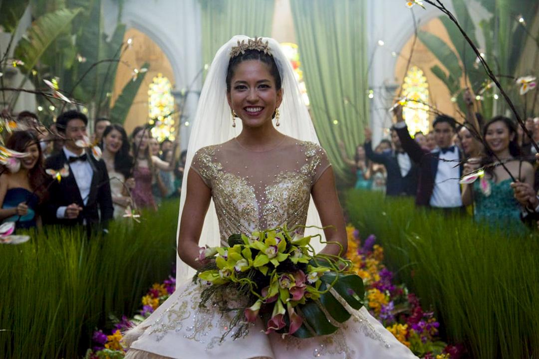 《瘋狂亞洲富豪》(Crazy Rich Asians)電影劇照。 網上圖片