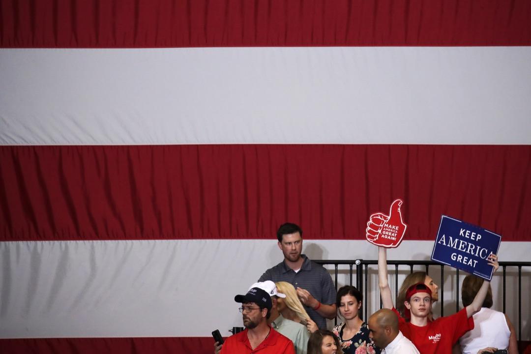 今年美國內政最重要的大事——11月舉行的中期選舉,將會隨著全球貿易戰的開打而添加上重要變量。 攝:Drew Angerer/Getty Images