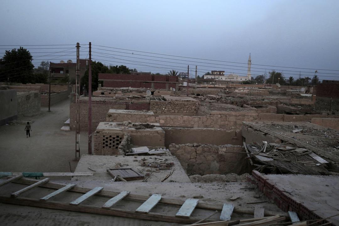 Eneiba村——其中一個埃及政府為賠償努比亞人遷離家園而建的村莊。