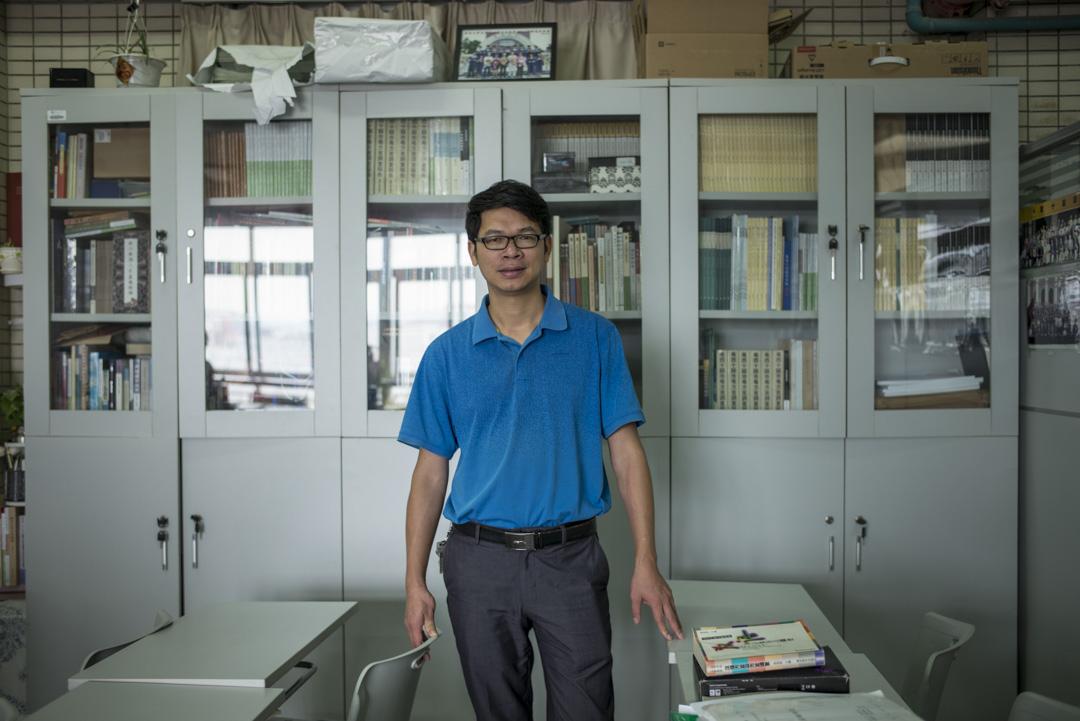 暨南大學漢語方言研究中心副主任侯興泉。