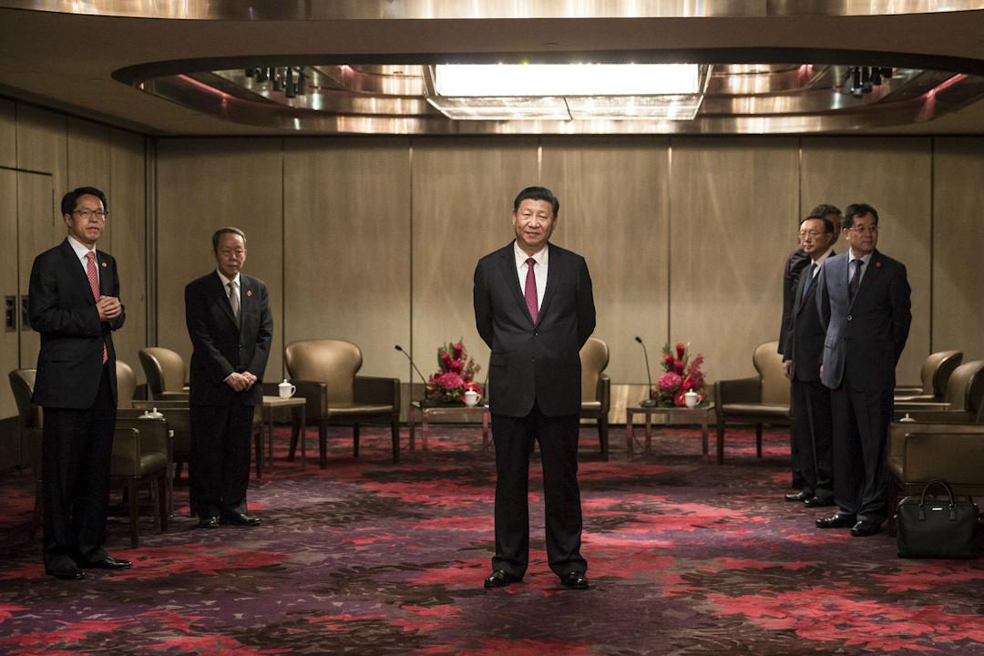 2018年8月26日,中共中央印發了最新修訂的《中國共產黨紀律處分條例》,將維護習近平的核心地位寫入黨紀。 攝:Dale De La Rey /AFP/Getty Images