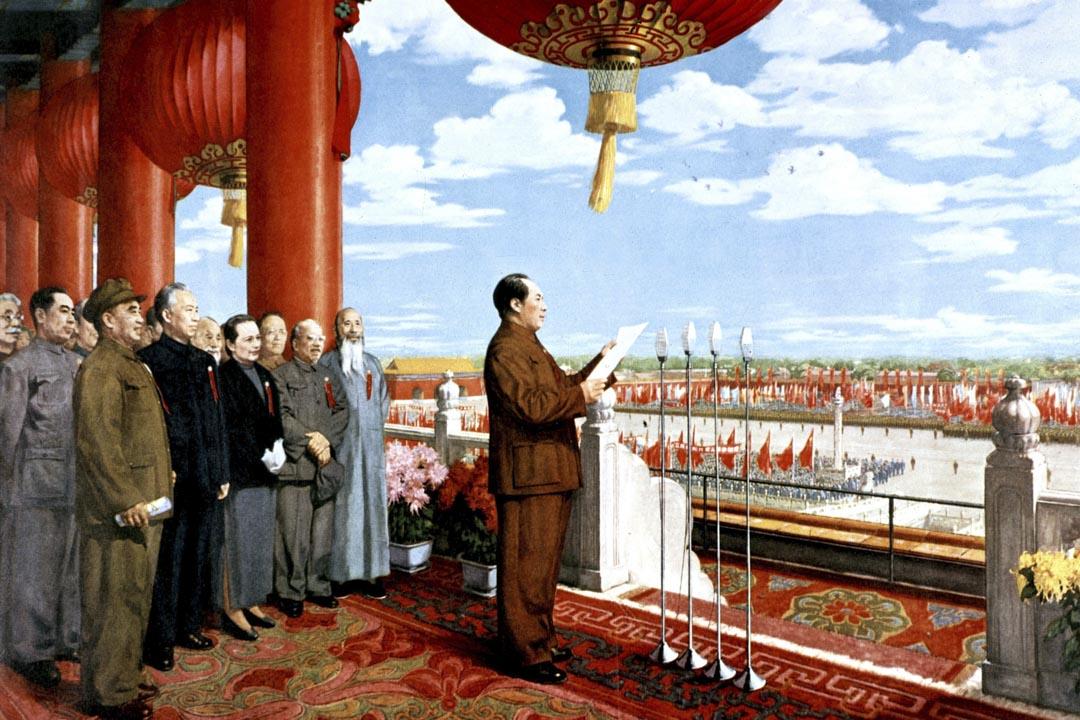 余英時:1949年以後,馬列主義意識形態絕對宰制了史學研究,所以整個毛的統治期,史學全是教條化的東西。