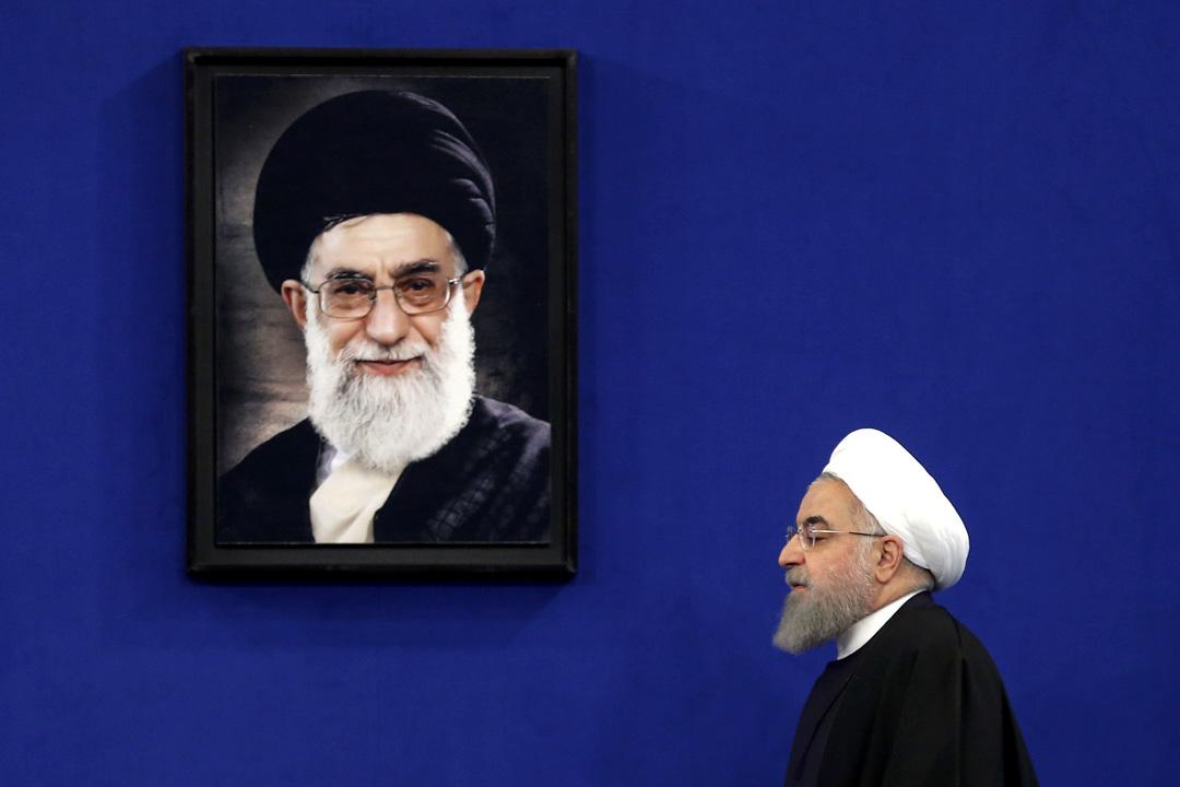 魯哈尼2013上台後,一直以改革温和派面貌示人,但於特朗普制裁措施下,魯哈尼也撕下了温和派的面具,在外交與軍事兩條戰線上配合伊斯蘭革命衞隊推行地區擴張政策。
