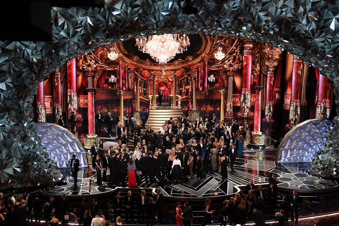 第90屆奧斯卡頒奬禮於今年3月舉行,頒奬禮直播長達四個小時,惟有數據指頒奬禮直播收視創下歷史新低。 攝:Mark Ralston / AFP / Getty Images