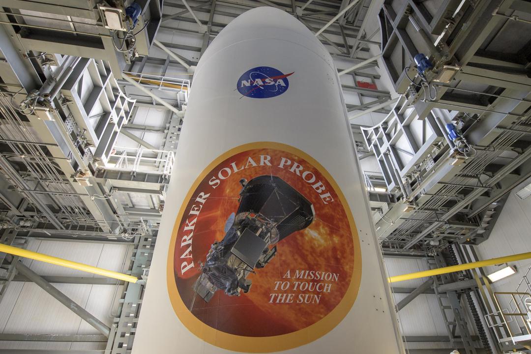 美國太空總署(NASA)表示,因應天氣條件,預測有七成機會可於當地週六(11日)凌晨發射搭載「帕克太陽探測器」的火箭;即使未能如期發射,直至本月23日都有合適時機。 攝:Bill Ingalls / NASA via Getty Images