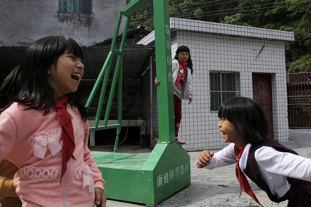 從21世紀初開始,中央政府就在不斷加大對義務教育,尤其是農村地區義務教育的投入。圖為貴州省八角村小學。